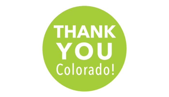 Thank You Colorado Home